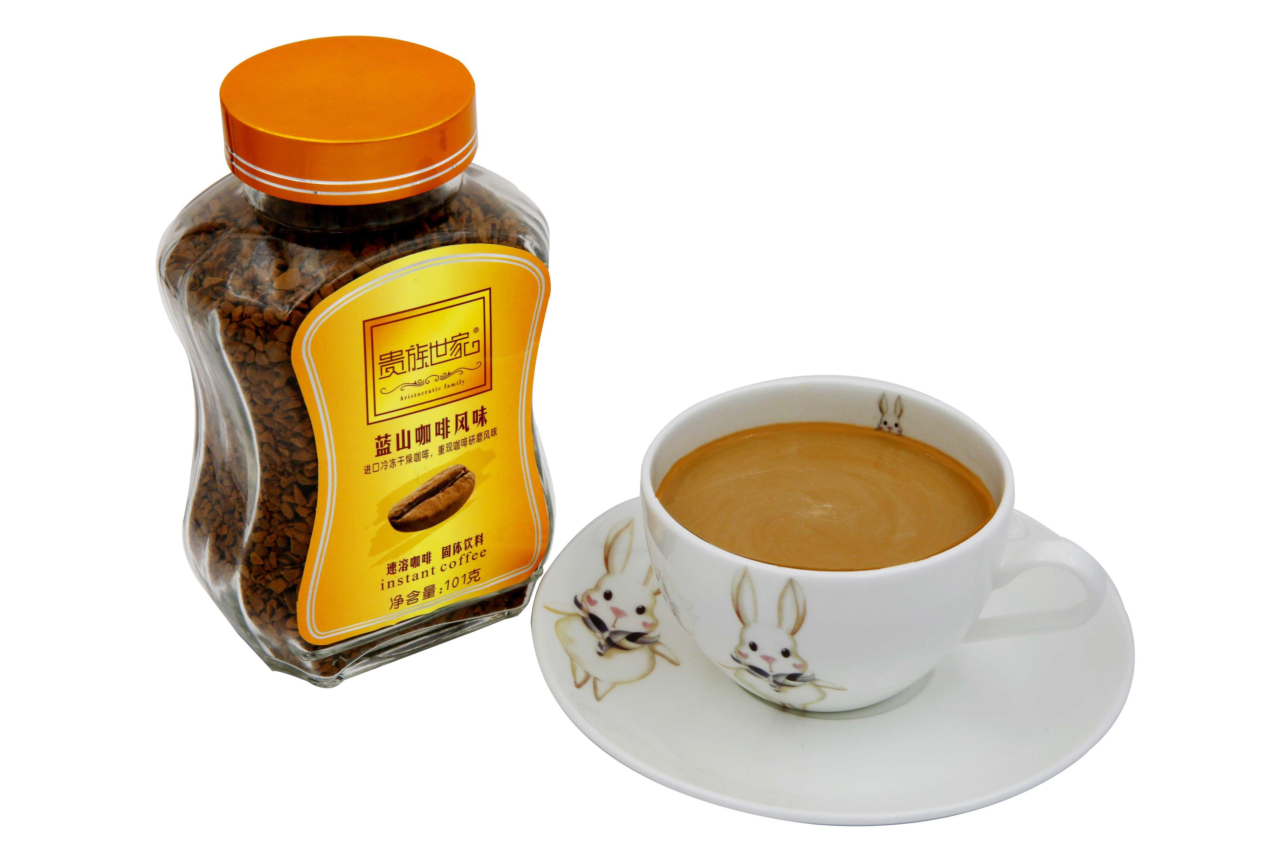 瓶装蓝山咖啡风味101克