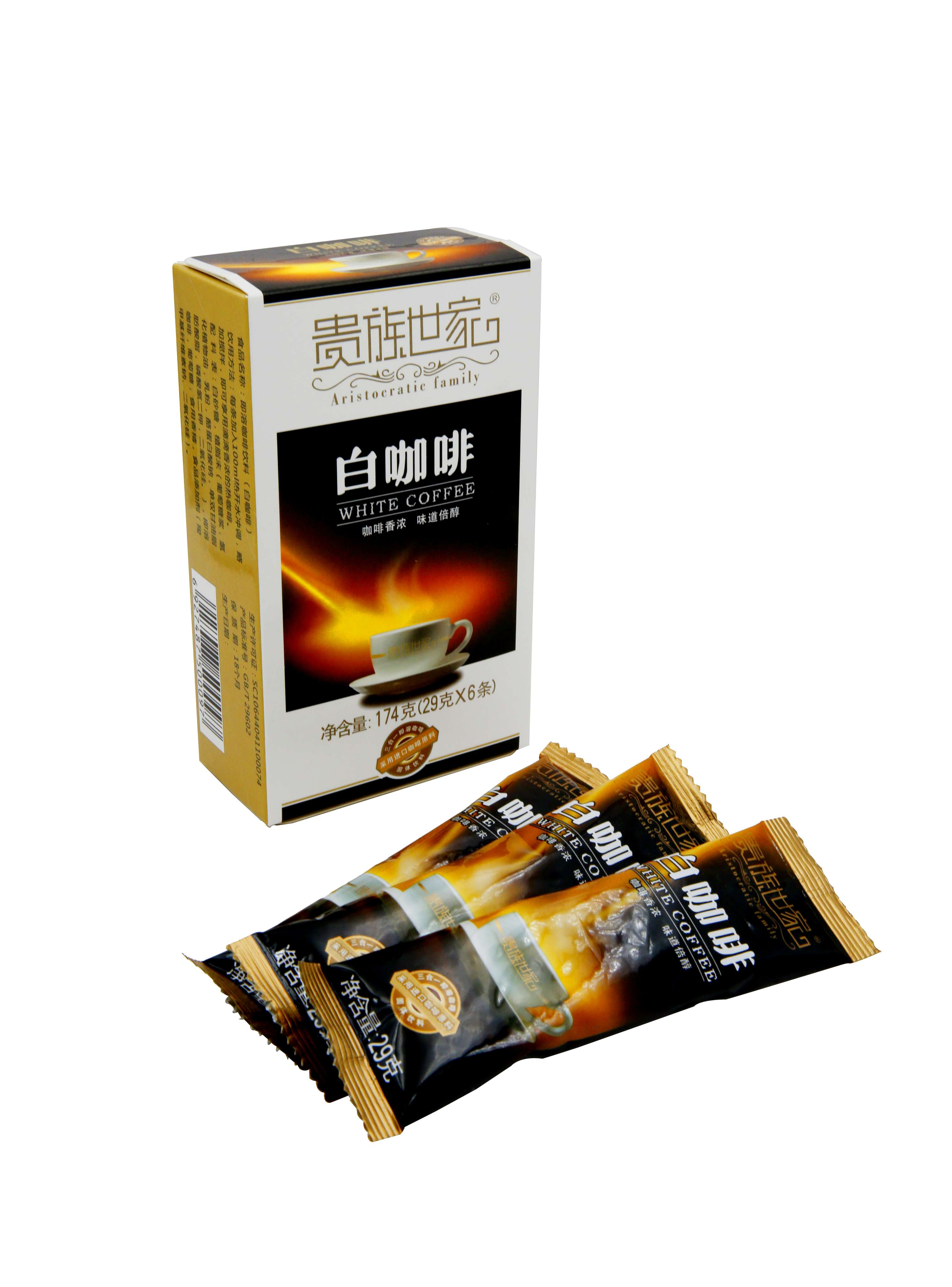 白咖啡风味29克x6包