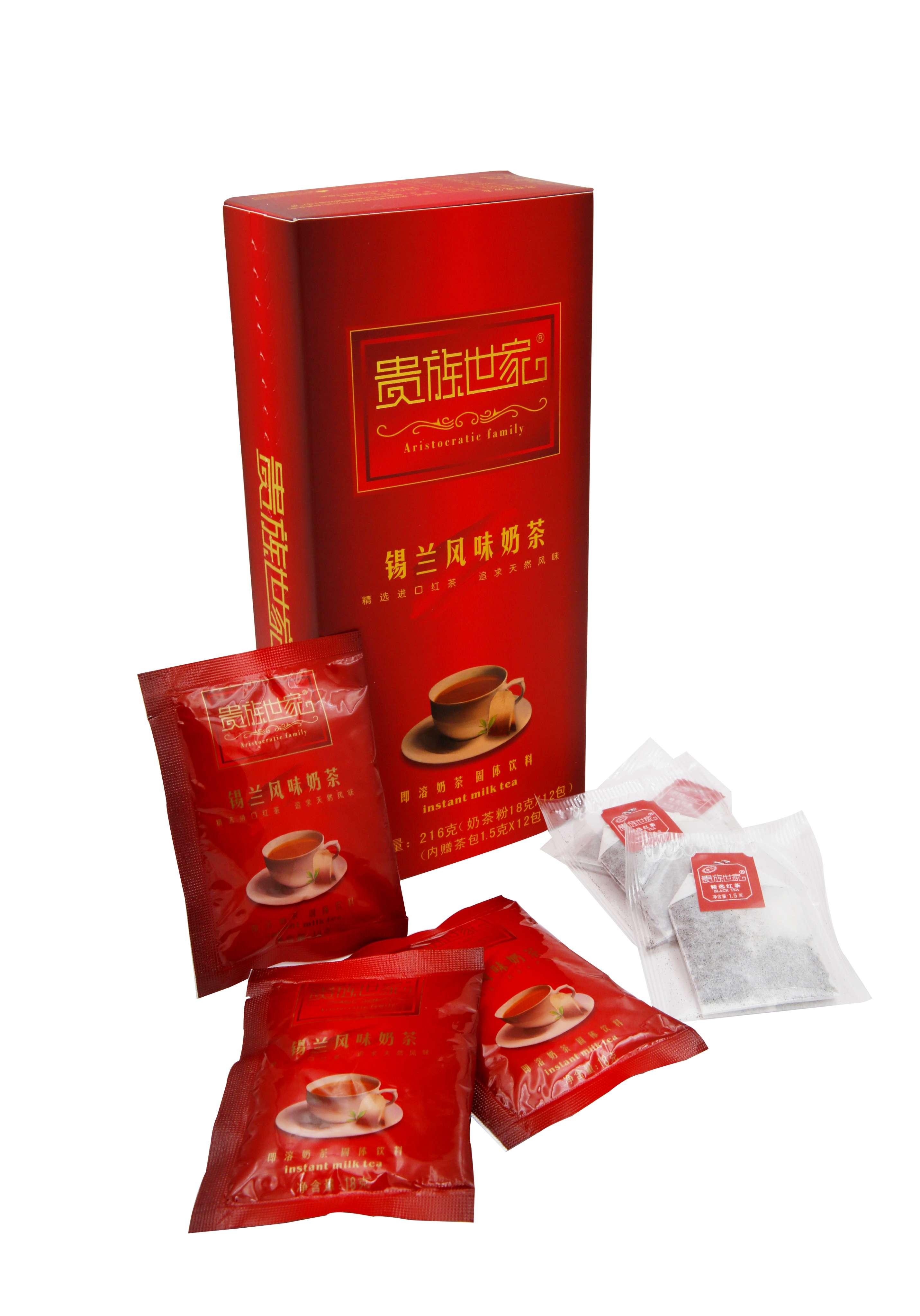 贵族世家奶茶18克x12包