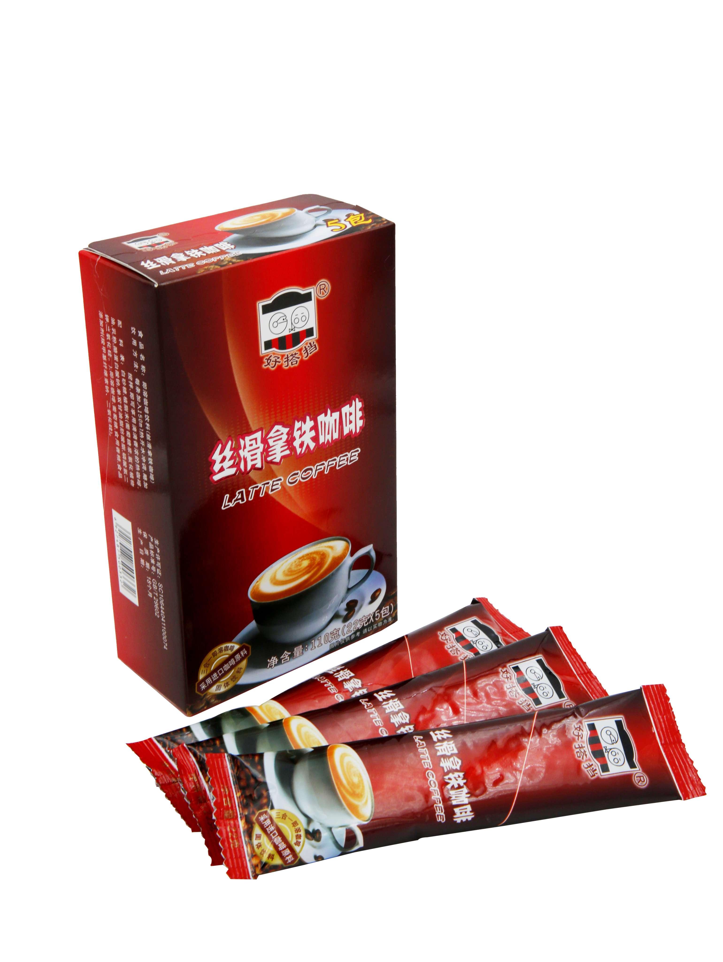 丝滑拿铁咖啡22克x5包