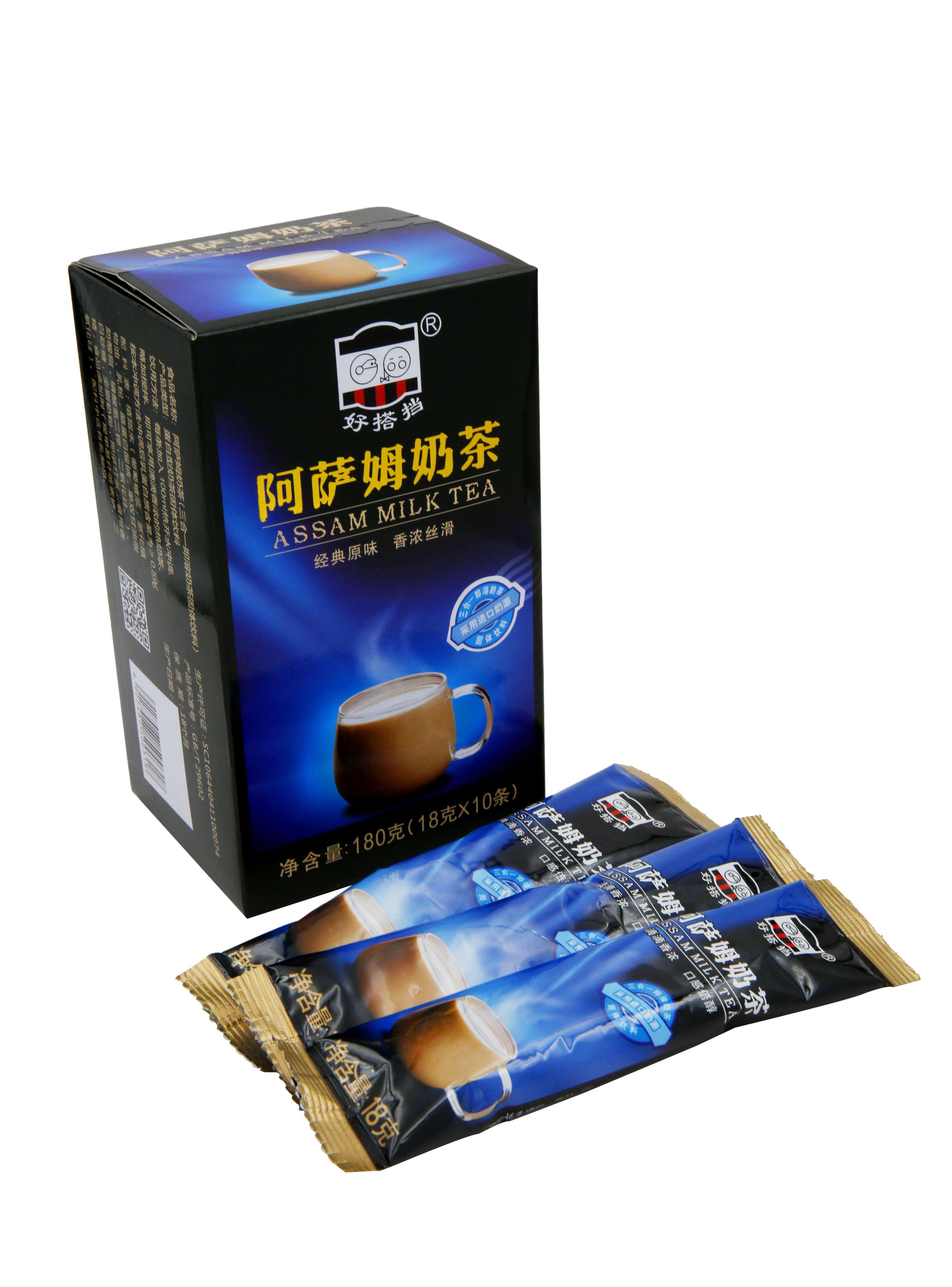 阿萨姆奶茶18克x10包
